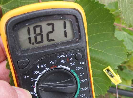 Leaf Sensor Multimeter